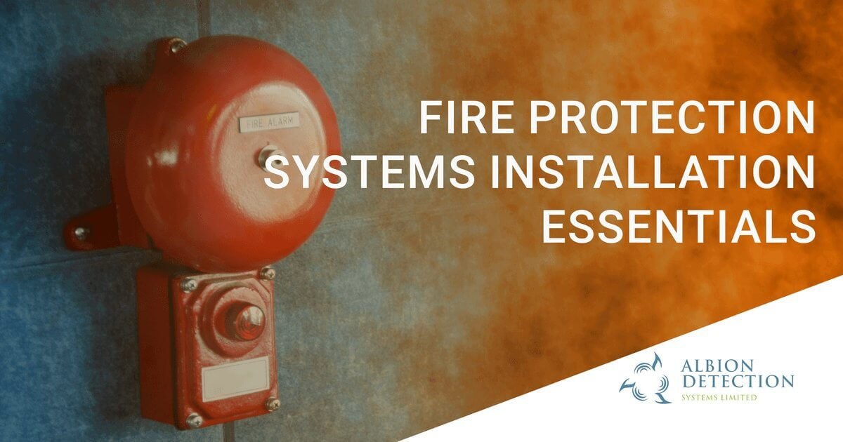 fire protection installation