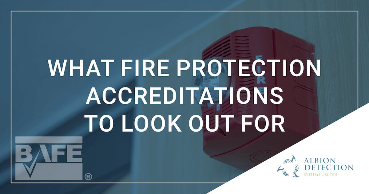 Fire Protection Accreditations